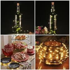 amazon com bottle lights bestomz 6pcs wine bottle light 40 inch