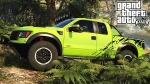 Ford Trucks Mudding Lifted - gta 5 epic ford raptor mod 4x4 off roading mudding u0026 ramps