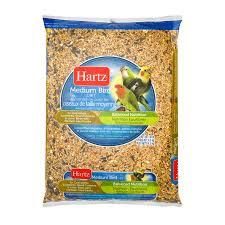 hartz medium bird food 10 0 lb walmart com