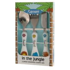 childrens kitchen knives childrens cutlery set jungle cutlery jungle 2 99