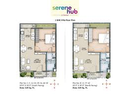 serene hub retirement row houses and villas in chennai