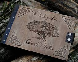 personalized wedding albums book custom wedding album etsy