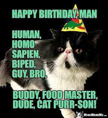 Funny Animal Birthday Memes - jungle cat funny birthday memes for guys