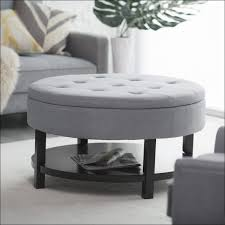 Square Tufted Ottoman Furniture Fabulous Small Ottomans And Footstools Square Leather