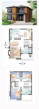 modern home plans with photos modern house plan 76317 total living area 1852 sq ft 3