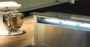 je veux une hotte invisible dans ma cuisine