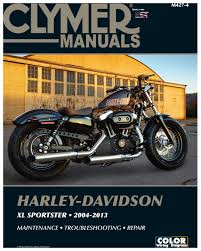 clymer manual harley davidson xl sportster 2004 2013 revzilla
