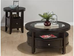 Tall End Tables Living Room by End Tables Designs Storage Round End Table With Drawer For