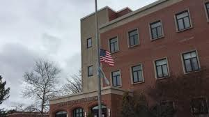 Flags Half Staff Today California Flags Fly At Half Mast At Ocean County Courthouse After Parkland