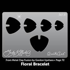 gordon uyehara floral bracelet quikart template