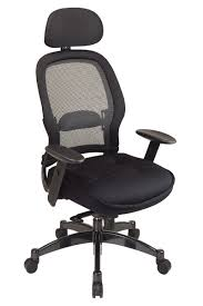 desk chair with headrest 25004 office star matrix high back executive office chair with