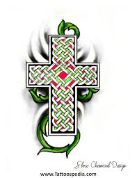 cross with vines tattoo tattoo collection