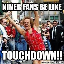 Niners Memes - touchdown 49ers san francisco dallas cowboys love to hate