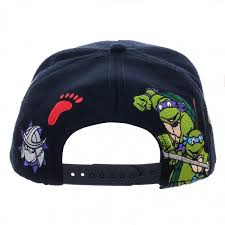 teenage mutant ninja turtles color omni snapback snapbacks