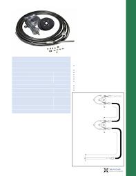 big t mechanical rotary steering dual inboard steering