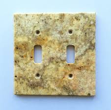 travertine light switch plates scabos travertine double toggle switch wall plate switch plate