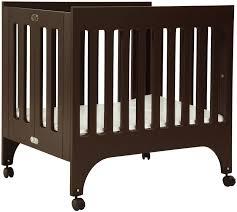 Davinci Emily Mini Crib Espresso by Babyletto Mini Crib Black Bloom Alma Mini Frost Grey Baby
