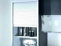 meuble cuisine rideau volet roulant pour placard cuisine rideaux pour placard de cuisine