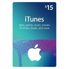 15 gift cards where can i get a 15 itunes gift card