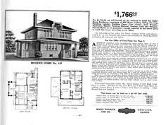 bungalow floor plans in the sears catalog 1915 to 1917 modern