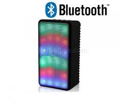 led light bluetooth speaker jhw v338 led light bluetooth speaker sound box support fm aux tf
