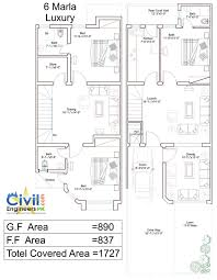 House Design 30 X 60 10 Marla House Design Moreover 30x40 House Layout Plan As Well 3d