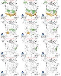 climate prediction center seasonal color maps