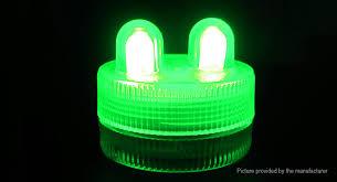 submersible led tea lights 1 52 waterproof submersible led tea light candle decoration l