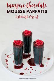 edible blood creepy decadent and insanely delicious mini dessert rich and