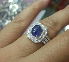model cincin blue safir jual batu cincin blue safir cek harga di pricearea