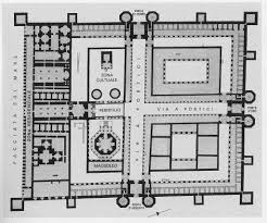 plan of diocletian u0027s palace architectural history of ancient