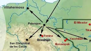 Chiapas Mexico Map Getting Around Chiapas Palenque Bonampak Yaxchilan
