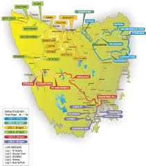 map of tasmania australia targa tasmania 2017 course targa australia