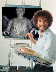 Painter Meme - bob ross know your meme