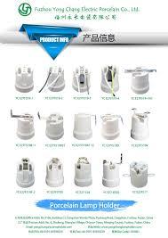 led bulb parts gu5 3 porcelain halogen lamp holder mr16 light