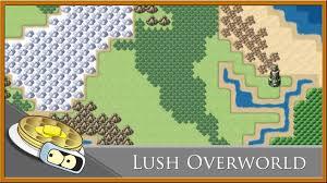 Basic World Map by Lush Overworld Speed Development Rpg Maker Mv Youtube