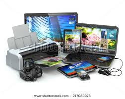 Computer Desk Gadgets Electronic Gadgets Stock Images Royalty Free Images U0026 Vectors