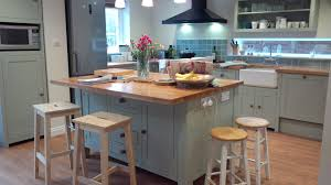 Free Standing Kitchen Islands Uk Woodstock Our Kitchens