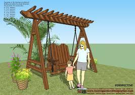 sw101 arbor swing plans construction graden swing plans
