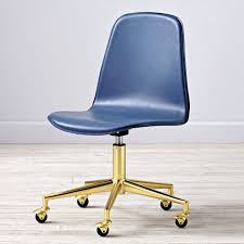 white gold office chair gold leather desk chair best home chair decoration