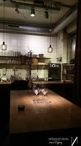 Restaurant Pendant Lighting Wine Bar Restaurant Pendant Lights Bar Kitchen Design By Meyn