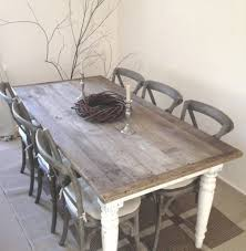 shabby chic kitchen table shabby chic table for kitchen rough wooden top color almosthomebb