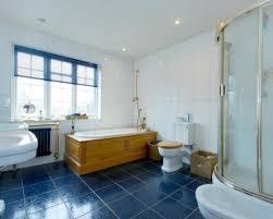 blue bathroom ideas astounding best bathroom floor tile blue bath white tiled