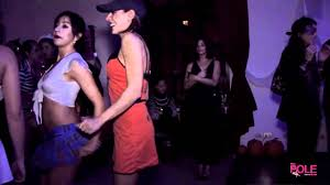 halloween dance images u0026 scary milan pole dance studio halloween party youtube
