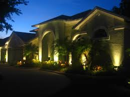 exterior landscape lighting with preferred properties landscaping