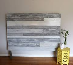 Pallet Wood Headboard Pallets Headboard Ideas Pallet Wood Headboards Diy Wooden White