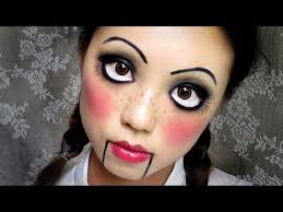 Scary Doll Halloween Costume Complete List Halloween Makeup Ideas 60 Images Easy