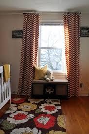 Chevron Nursery Curtains Great Explanation Of Cutting On The Bias Easy Bias Stripe Nursery