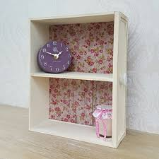Shabby Chic Wall Cabinets by Small Wooden Wall Display Cabinet Shelf Unit Cream Shabby Chic