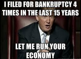 donald trump bankruptcy meme usa fifty states pinterest